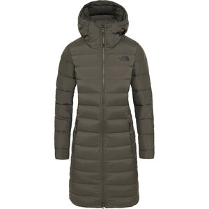 The North Face Stretch Down Parka Dam New Taupe Green New Taupe Green
