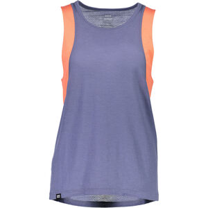 Mons Royale Kasey Relaxed Mesh Tank Dam coral/stone coral/stone