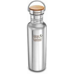 Klean Kanteen Reflect Bottle Bamboo Cap 800ml mirrored stainless mirrored stainless