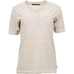 United By Blue Mull Stripe Henley Dam cream cream