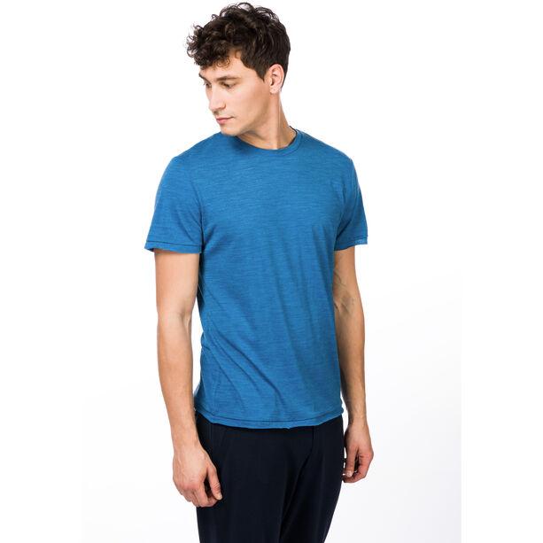 super.natural Everyday T-shirt Herr vallarta blue melange