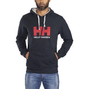 Helly Hansen HH Logo Hoodie Herr navy navy