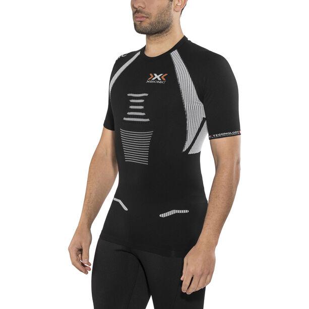 X-Bionic The Trick Running Shirt SS Herr black/white