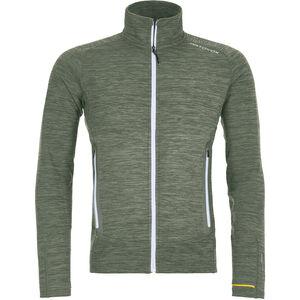 Ortovox Merino Fleece Light Melange Jacket Herr green forrest blend green forrest blend