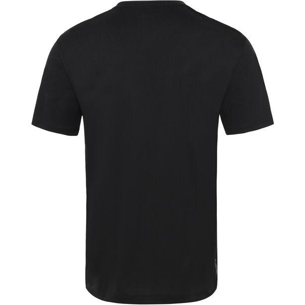 The North Face Flex II Big Logo SS Shirt Herr TNF Black/TNF White