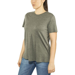Alchemy Equipment 180GSM Merino Relaxed Tee Dam gunmetal marle gunmetal marle