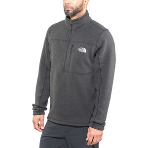 The North Face Gordon Lyons 1/4 Zip Jacket Herr tnf black heather tnf black heather