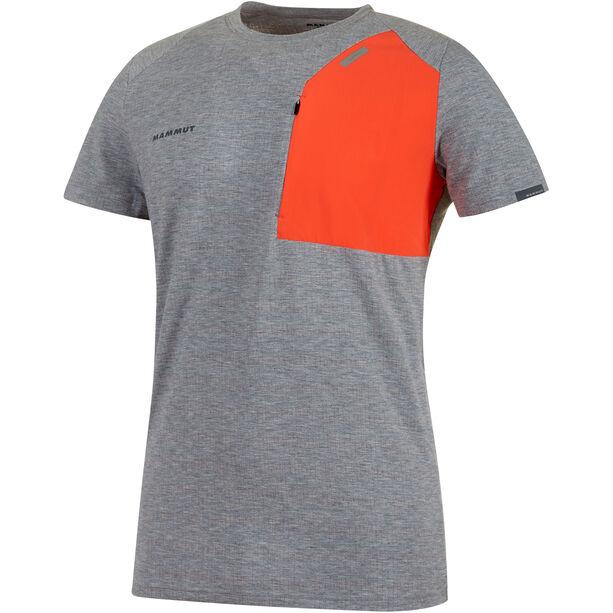 Mammut M's Crashiano Pocket T-Shirt Herr storm melange-zion