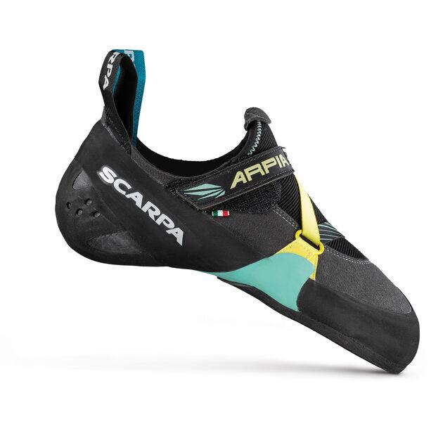 Scarpa Arpia Climbing Shoes Dam black-aqua