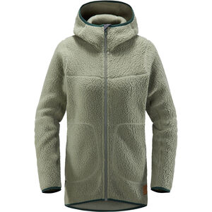 Haglöfs Pile Hooded Jacket Dam Agave Green Agave Green