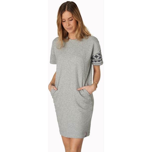 Varg Haväng Cotton Dress Dam grey