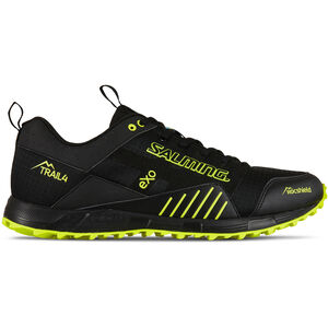 Salming Trail T4 Shoes Herr black/safety yellow black/safety yellow