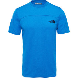 The North Face Purna S/S Tee Herr bomber blue light heather bomber blue light heather