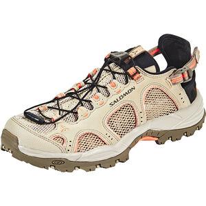 Salomon Techamphibian 3 Shoes Dam vintage kaki/bungee cord/living coral vintage kaki/bungee cord/living coral