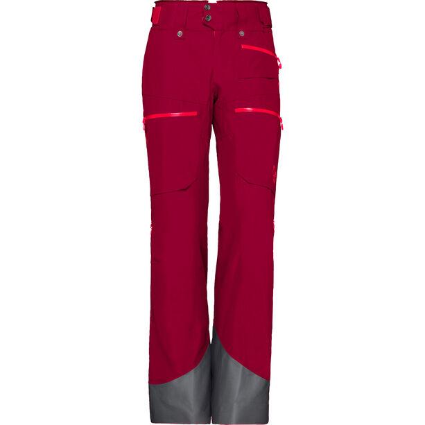 Norrøna Lofoten Gore-Tex Insulated Pants Dam rhubarb