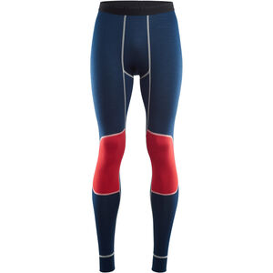 Aclima LightWool Reinforced Long Pants Herr insignia blue/blithe/high risk red insignia blue/blithe/high risk red
