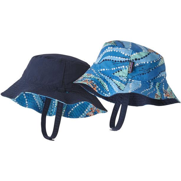 Patagonia Sun Bucket Hat Barn bell bay/port blue