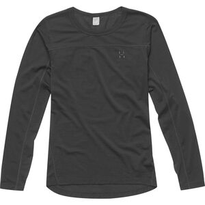 Haglöfs Actives Merino II Roundneck Dam true black true black