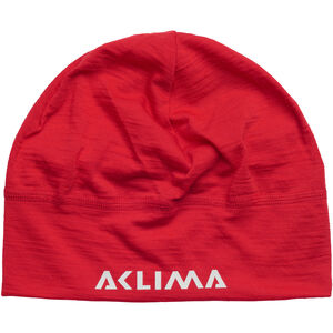 Aclima LightWool Beanie high risk red high risk red