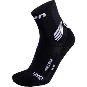 UYN Run Trail Challenge Socks Herr black/white black/white