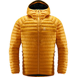 Haglöfs Essens Mimic Hooded Jacket Herr Desert Yellow/Mineral Desert Yellow/Mineral