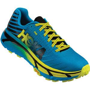 Hoka One One Evo Mafate Running Shoes Herr cyan/citrus cyan/citrus