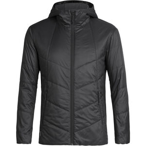 Icebreaker Helix Hooded Jacket Herr Black Black