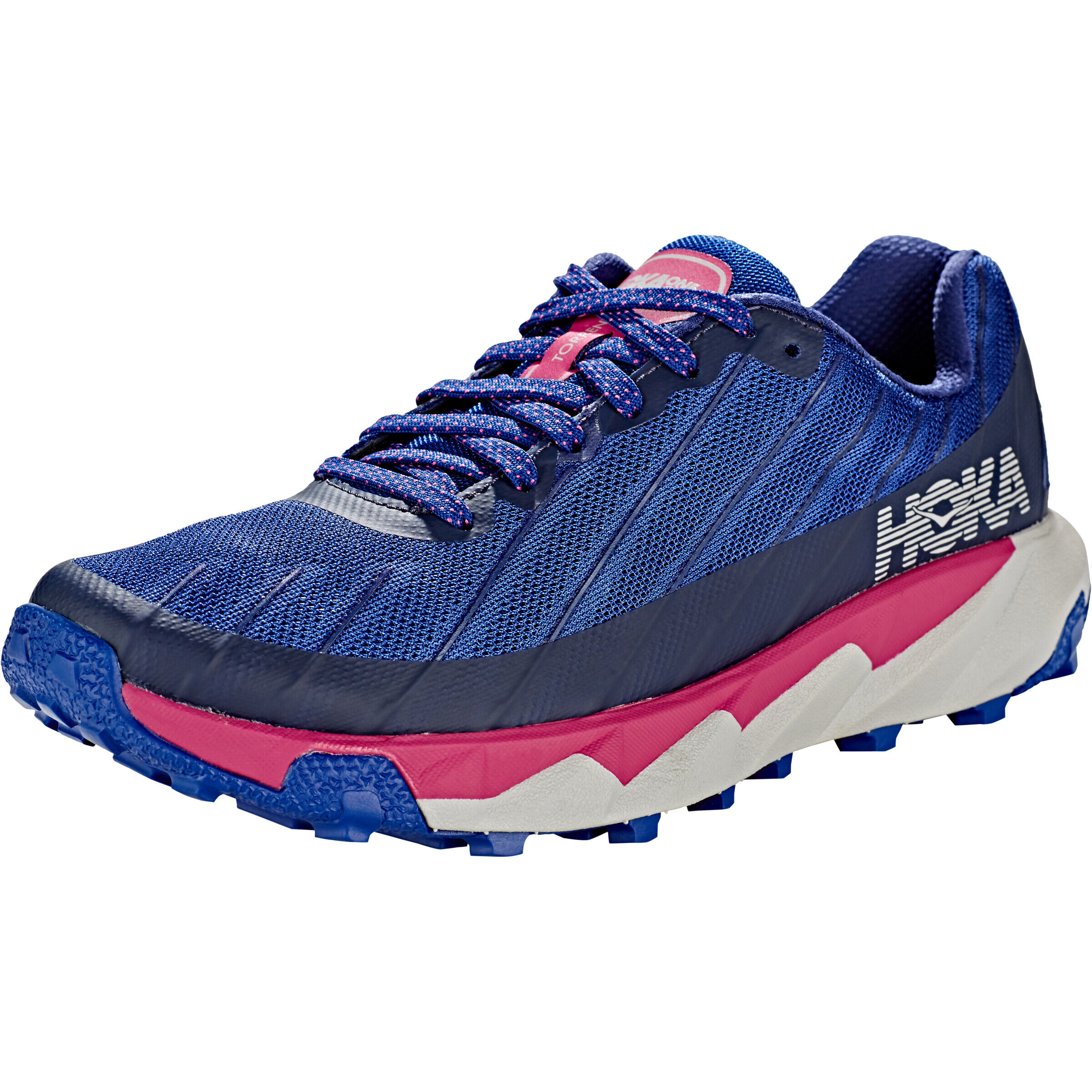 Hoka One One Torrent Running Shoes Dam sodalite bluevery berry