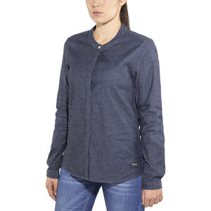 Bergans Oslo Shirt Dam dark denim dark denim