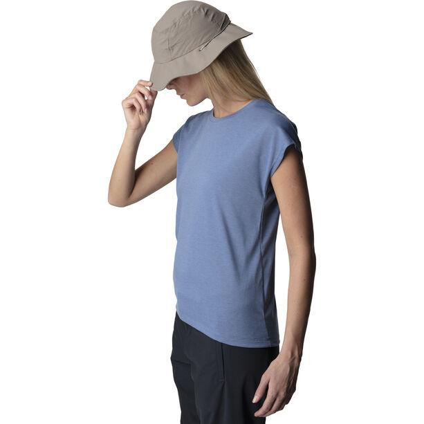 Houdini Big Up Tee Shirt Dam skyhigh blue
