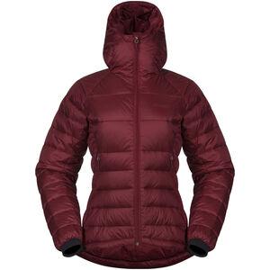 Bergans Slingsby Down Light Jacket w/ Hood Dam bordeaux bordeaux