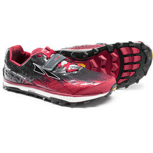 Altra King MT 1.5 Trail Running Shoes Herr red red