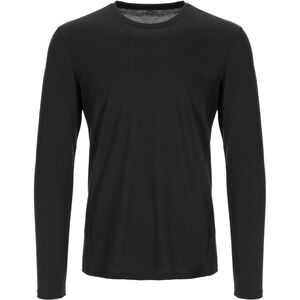 super.natural Base 230 Crew Neck Herr jet black jet black