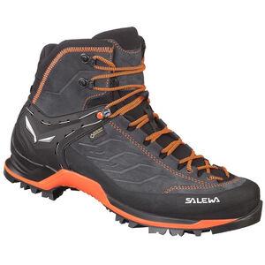 SALEWA MTN Trainer Mid GTX Shoes Herr asphalt/fluo orange asphalt/fluo orange