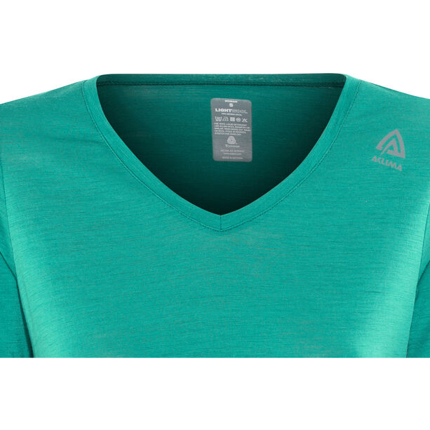 Aclima LightWool Loose Fit T-shirt Dam harbor blue
