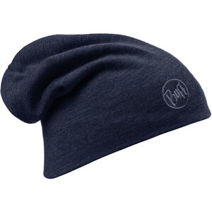Buff Heavyweight Merino Wool Hat solid denim solid denim
