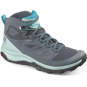 Salomon OUTline GTX Mid Shoes Dam stormy weather/icy morn/bluebird stormy weather/icy morn/bluebird