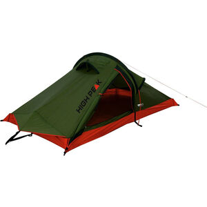 High Peak Siskin Tent pesto/red pesto/red