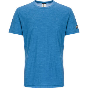 super.natural Everyday T-shirt Herr vallarta blue melange vallarta blue melange