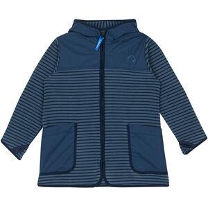 Finkid Kodikas Fleece Jacket Barn blue mirage/navy blue mirage/navy