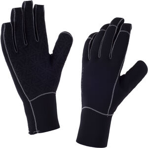 Sealskinz Neoprene Gloves Herr black/charcoal black/charcoal