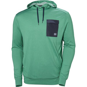 Helly Hansen Hyggen Light Hoodie Herr pepper green pepper green