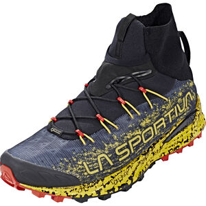 La Sportiva Uragano GTX Trail Running Shoes Herr black/yellow black/yellow