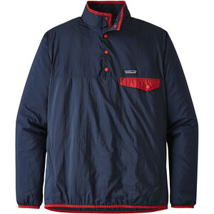 Patagonia Houdini Snap-T Pullover Herr stone blue with neo navy stone blue with neo navy