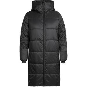 Icebreaker Collingwood 3Q Hooded Jacket Dam Black Black