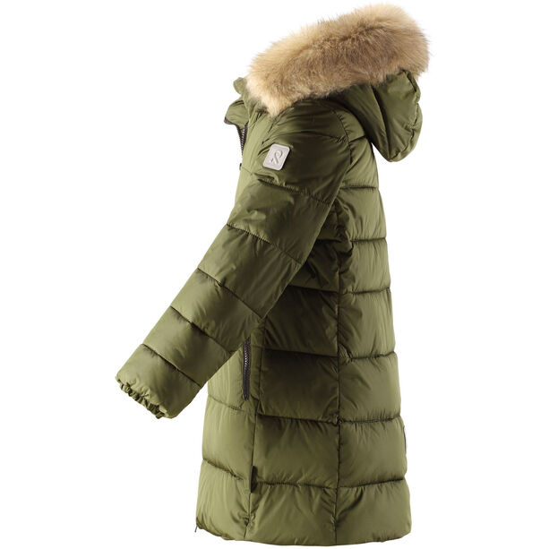 Reima Lunta Winter Jacket Flickor Khaki Green