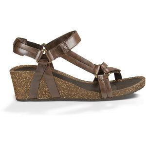 Teva Ysidro Universal Wedge Metallic Sandals Dam brown metallic brown metallic