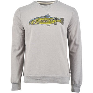 United By Blue Scale New Heights Crew Pullover Herr Boulder Grey Boulder Grey