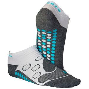 Gococo No Show Circulation Socks white white