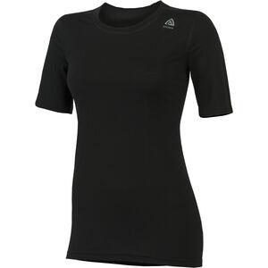 Aclima LightWool Classic T-shirt Dam jet black jet black